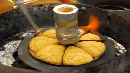 日本特色小吃,外边像酥饼制作过程复杂,出炉后食客纷纷抢购!