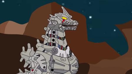 哥斯拉大作战:哥斯拉打完穆托, 机械哥斯拉又来挑战, 怪兽争斗永不停息