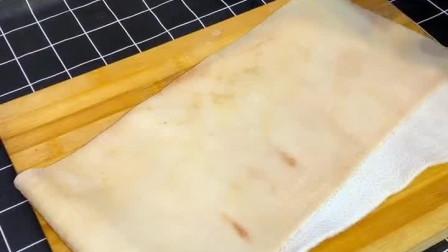 家庭版自制猪皮卷,你们想吃吗