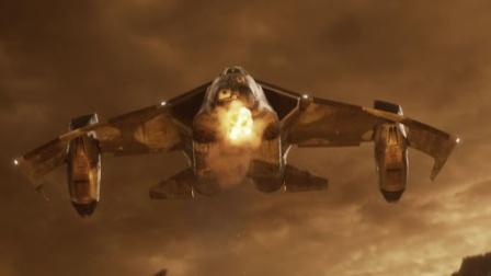 60帧:空中飞机战斗场面