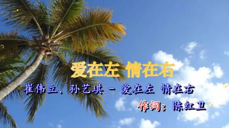 崔伟立,孙艺琪《爱在左 情在右》温柔甜蜜,太浪漫了!