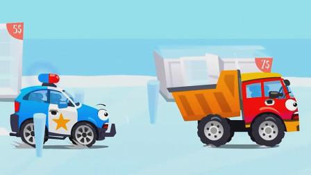 汽车总动员:从天而降的大冰箱里边装着什么好吃的呢?