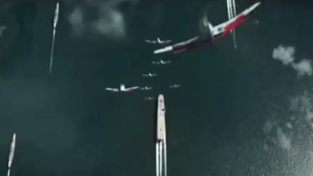 """炸弹如""""下饺子""""一样落下来,航空母舰成功被击沉!"""