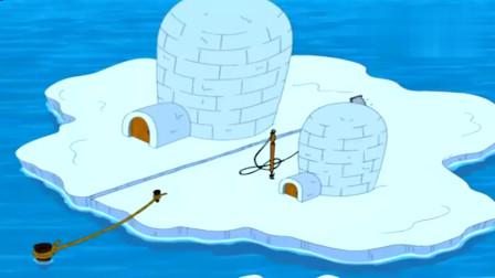 猫和老鼠:汤姆和野猫终于把北极熊和杰瑞分开,现在杰瑞慌了