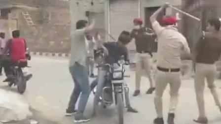印度是个民主搞笑的国家,抗疫执法简单而又不是礼貌
