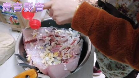红烧鱼头炖豆腐农家做法,鱼头新鲜肉嫩,豆腐入味香辣可口,比饭店烧的好吃