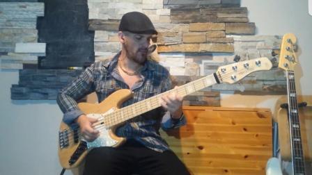 Marcus millerv7 和fender jazz bass 音色对比