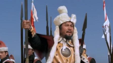 经典老电影,杨宗保远征边关中了敌人埋伏,以身殉国