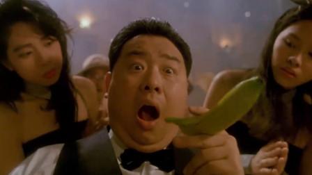 影视:美女技术真是高,堪比当今球王丁俊晖,吓的男子雪茄变香蕉