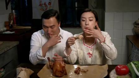 嫂子怀孕害口全家跟着吃素,妹夫心疼老婆,只能半夜躲厨房吃烧鸡