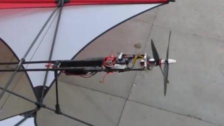这绝对是最灵活的螺旋桨,看看这启动前的热身也太牛了