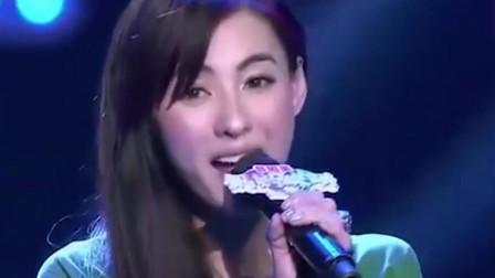 张柏芝超神了,演唱一首《星语星愿》,开口成为经典了