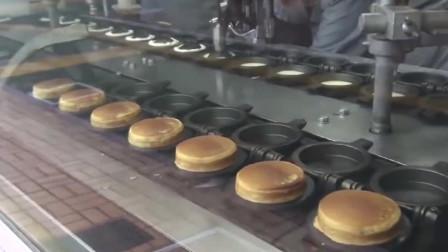 街头美食,芝士面包制作过程,完美