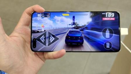满溢屏玩游戏是什么感觉?华为P40 Pro全球首发狂野飙车9测评!