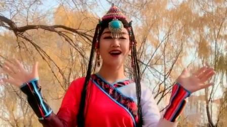 蒙古少女翻唱一首《你是我的人》,歌声优美,陶醉其中