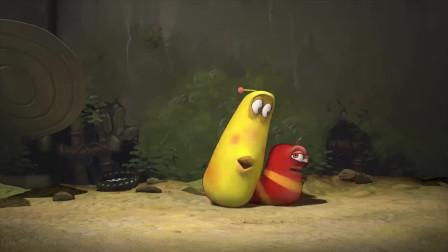 爆笑虫子:小黄一直在吃蘑菇,小红也想要吃,结果太可怜了
