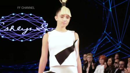 2020纽约时装周Ashlyn So品牌时装秀,显示出女神的完美气质!