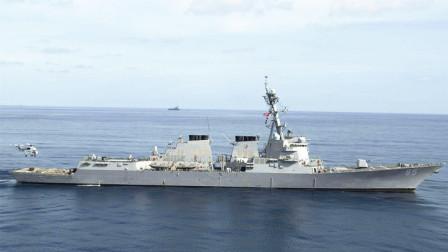"""美舰穿越台海,解放军排比句警告气势磅礴,绝不容忍任何""""台独"""""""