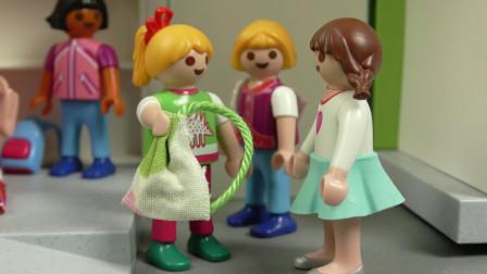 益智卡通玩具故事:玩偶小萝莉的书包竟被偷走,她该如何找回呢?