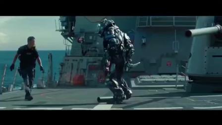 超级战舰:美国海军发现了外星人 最后用军舰打死