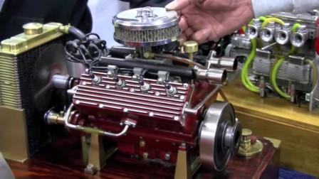 这台发动机与汽车的相比除了小大家说还有什么不同么?