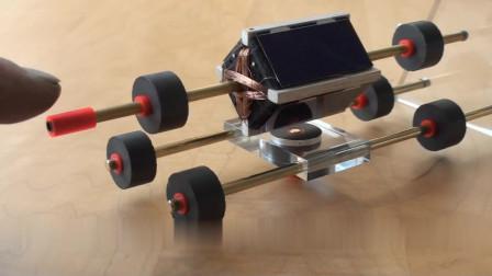 这台悬浮电机,只要有阳光就能无限运动,大家看明白原理了么