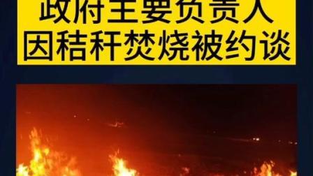 #昌图县 #铁岭县、#灯塔市、#调兵山市、#法库县 主要负责人因秸秆焚烧被约谈 #秸秆禁烧 #辽宁 #环境