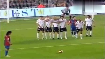 足球精灵,罗纳尔迪尼奥令人难忘的15个进球,他的天赋无人超越