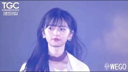 日本女模甜美走秀,活泼开朗,舞台魅力十足!