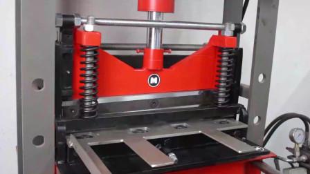 开局一块钢板,成品一台剪板机,这哥们工作室堪称小型加工厂