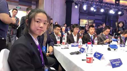中国15岁天才女孩,参加全球顶尖科学家大会,刷新世界认识!