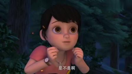 熊出没:赵琳太温柔,怕强哥睡觉着凉,还给他盖上被子!