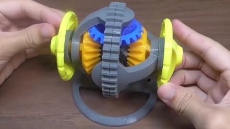 3D打印差速器,以后修车一台3D打印机就可以了
