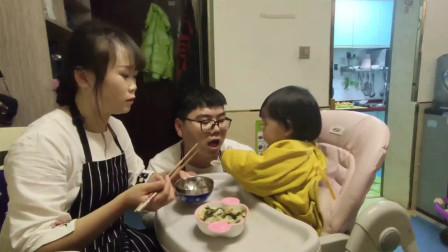 """1岁多宝宝美味辅食""""迷你小馄饨""""宝宝超级爱吃,简单3分中就学会"""