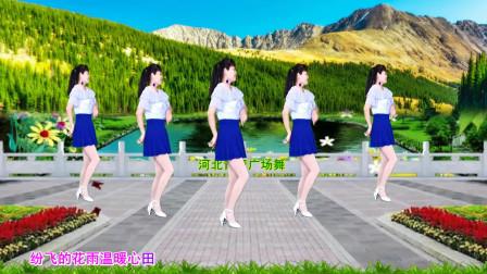 柔美抒情广场舞《花香醉在我心间》片片寄满了思念,32步动感轻盈