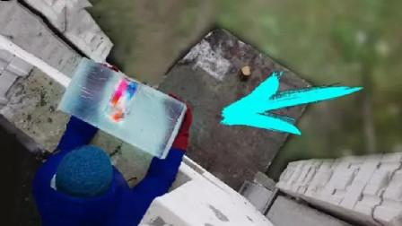 冰块能保护手机吗?把它从3楼扔下,结果你猜怎么着!