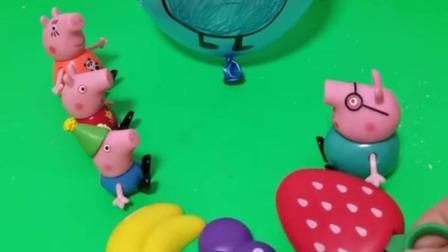 猪爸爸回来啦,乔治和佩奇都说他是假的猪爸爸,谁才是真的猪爸爸呀!