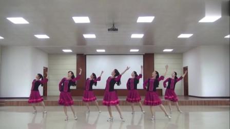 广场舞《新疆亚克西》新疆舞 背面演示加分解动作教学