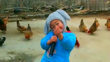 萌娃翻唱一首《桥边姑娘》,稚嫩的童声,唱得太好听了