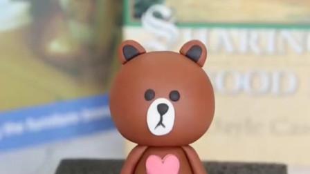 布朗熊,翻糖课程,学习咨询烘焙课程。