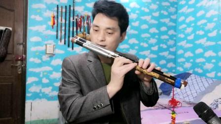 双管巴乌吹奏《西海情歌》