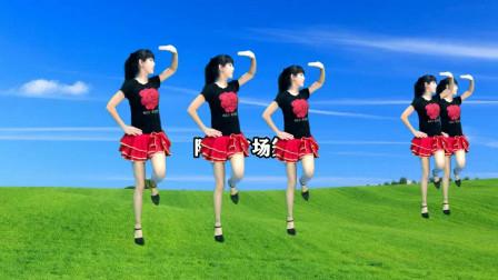 零基础入门32步《花一样的姑娘》阿采广场舞