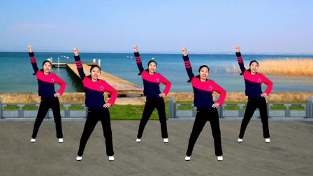 64步零基础健身操,收腹瘦身运动减肥适合大众