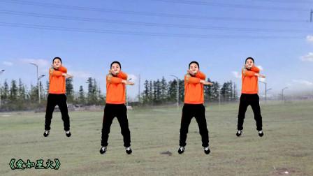大家喜欢简单的动作,锻炼身体好