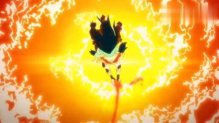 面对创世之神提亚马特,女神用尽全部的力量,放出毁天灭地的一击