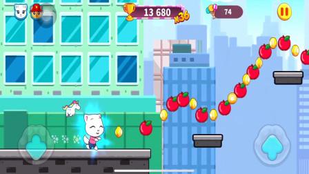 大家来玩汤姆猫橘子解说466:安吉拉不小心掉岩石下面去了