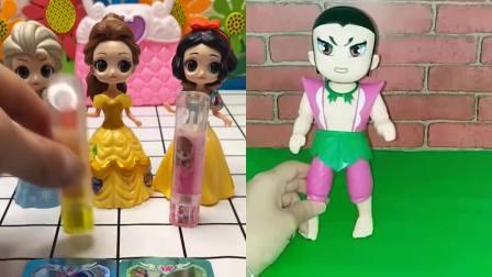 葫芦娃被妖精变小,最后还变成了卡片,他能恢复吗?