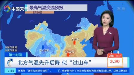 3月30日天气预报 北方气温回升 东北、华北暖出小阳春 但下周气温将继续下跌
