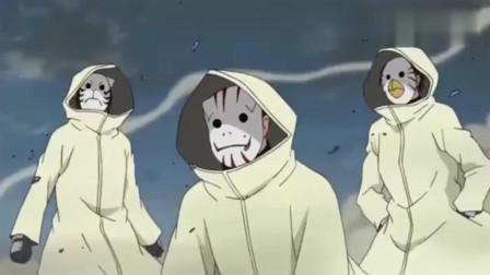 火影忍者:木叶暗部联手,忍术配合完美,这才是木叶!