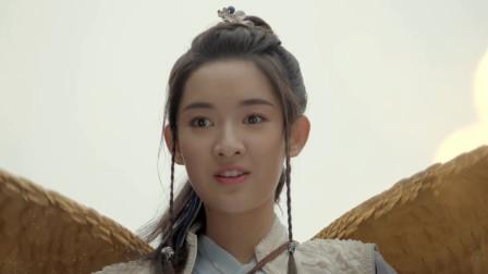 九州天空城2:风如澈即将摔落地上之时,后背突然生出一双翅膀,让风如澈充满好奇